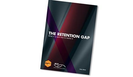 The retention gap ()