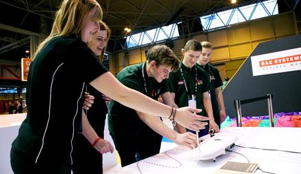 BAE Systems at Skills Show 2014 ()